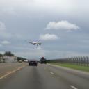 Plane Landing on Guam