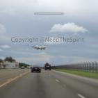 Japan AirLines landing on Guam