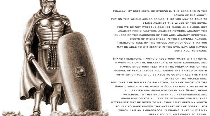 Notes on Armor Of God