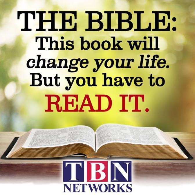 Praying is my direct line while the Bible is his text Message.
