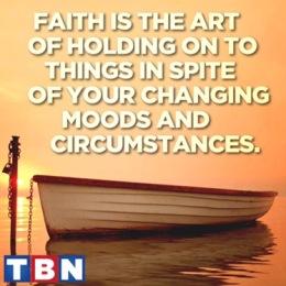 My faith and my personal struggle.