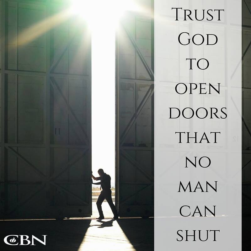 God keeps the door open | Need The Spirit